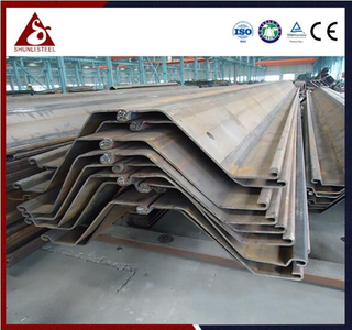 Ang nabuo ng Cold River Bank Z Steel Sheet Pile