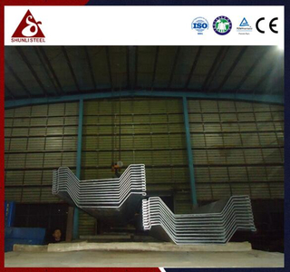 Ang Omega sheet pile light weight sheet pile